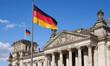Leinwandbild Motiv Berlin_Reichtagsgebäude_Deutscher Bundestag