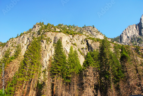 Mountain in Yosemite National Park california america