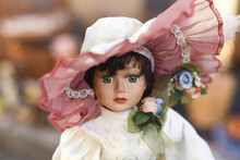 Portrait Of A Vintage Doll At ...