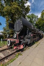 Steam Locomotive , Jablonowo Pomorskie , Kuyavian-Pomeranian Voi