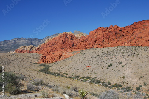 Red Rock Canyon National Conservation Area in Nevada America