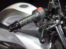 オートバイのハンドル