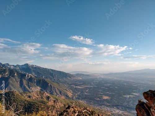 Photo View from Albuquerque Mountain, New Mexico, sand ridge