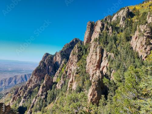 Photo Landscape, Albuquerque, New Mexico from the Sandia Mountain Crest