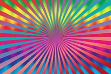 An Abstract Sunburst Tie Dye Background Image.