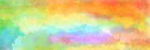 Colorful Watercolor Background...