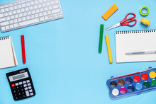 Colorful Stationary In Concept...