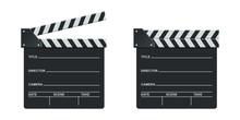 Director Clapboard Vector Desi...