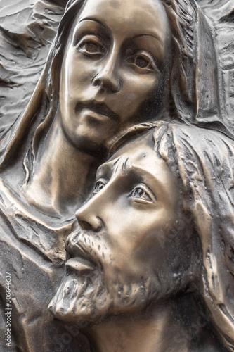 Fotografia Jesus and Mary