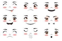 Kawaii Face Expressions