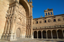 St. Esteban Church In Salamanca