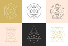 Vector Sacred Geometry Shapes ...