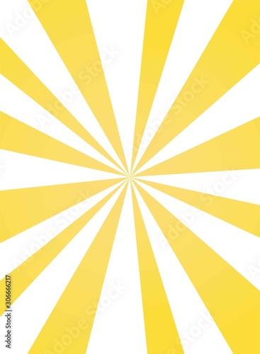 Sunlight asymmetric background Canvas Print