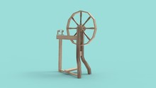 3d Rendering Of A Spinning Whe...
