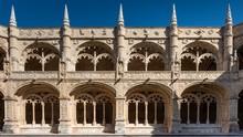 Impressive Architecture Of The Mosteiro Dos Geronimo Near Lisbon, Portugal.