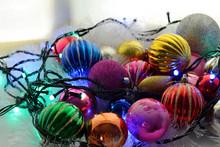 Christmas Colorful Shiny Crist...
