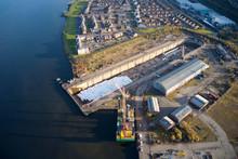 Drydock For Shipbuilding Const...