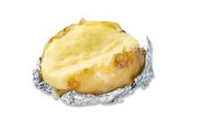 Photo Of Fresh Baked Potato With Peel