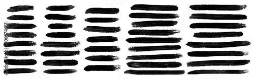 Fototapeta brush stroke. brush stroke vector. brush stroke vector set.