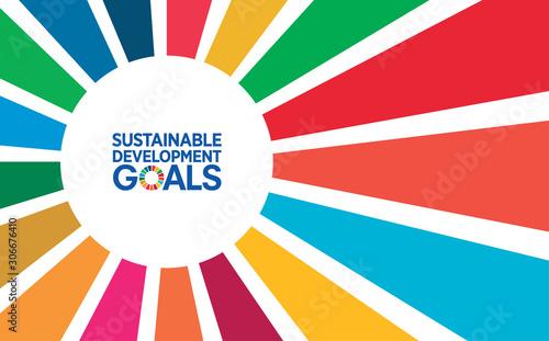 Go green concept. Save the world vector CSR report Cover design. Sustainable Development Goals Report: corporate social responsibility book, magazine, annual report, brochure, manual design.