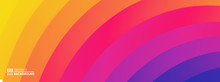 Abstract Background With Ripple Effect And Gradients. Sound Waves. Vector Illustration For Promotions Or Presentations.