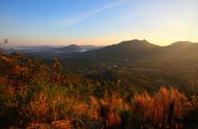 Mountain View Morning Of Phu Thok At Chiang Khan , Loei Thailand