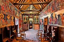 Inside The Church Of Archangel...