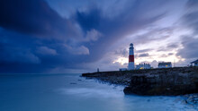 Portland Bill Light House With...
