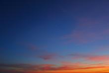 Beautiful Twilight Sky Backgro...