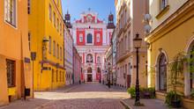 Historic Street In Poznan In T...