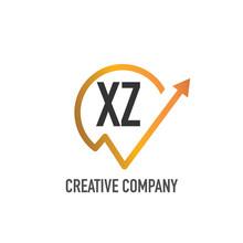 Initial Letter Xz Real Estate Logo Design Template. Creative House Logo Collection