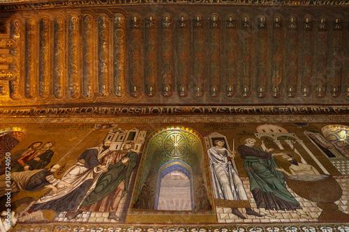 Fototapeta Palatine Chapel (Cappella Palatina) obraz