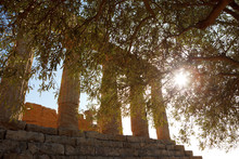 Valley Of The Temple In Agrigento