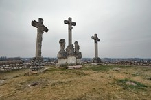Crosses On The Hill, Weathered...