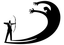 Facing Fear Or Suppress Own Eg...