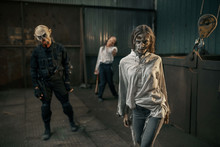 Zombies Looking For Fresh Meat...
