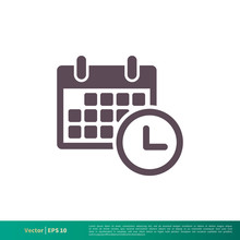 Calendar, Schedule Icon Vector...