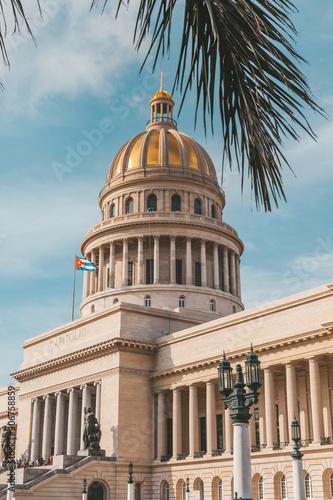 Photo  The Capitol in La Habana Vieja, Cuba, Caribe