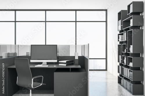 Fototapety, obrazy: Modern coworking office interior