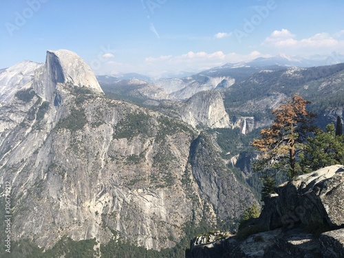 Half Dome granite mountain Yosemite National Park, California, USA