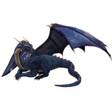 Blue Dragon Sitting Dragon Gua...
