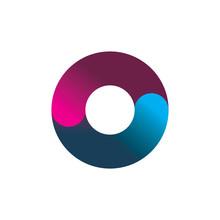 Circle Balance Color Logo Design