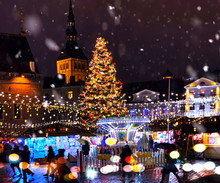 Christmas City Market Place In...