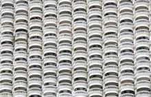 The Facade Of A High-rise Hous...