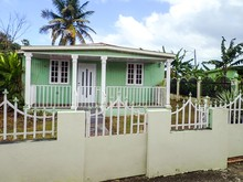 Puerto Rico Mint Green House W...