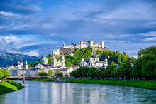 A View Of The Austrian City Of...