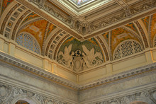 Ceiling Of Thomas Jefferson Bu...