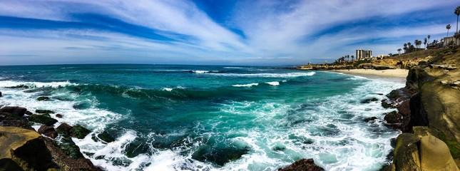 sea and blue sky