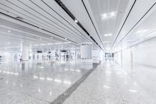Modern High-speed Rail Station Hall