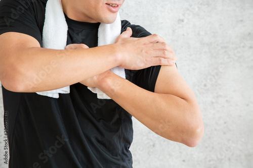 スポーツウェアを着た男性 Obraz na płótnie